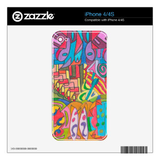 COLOR EYE CANDY COLLECTION 110 iPhone 4S SKIN