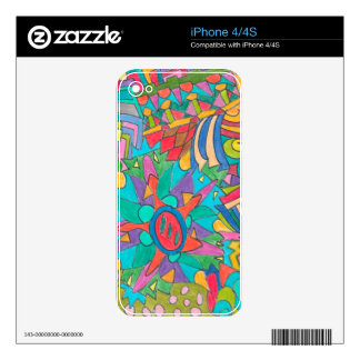 COLOR EYE CANDY COLLECTION 111 DECALS FOR THE iPhone 4