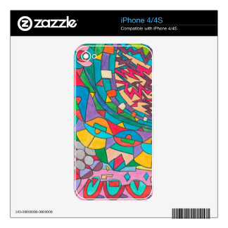 COLOR EYE CANDY COLLECTION 113 iPhone 4 SKIN