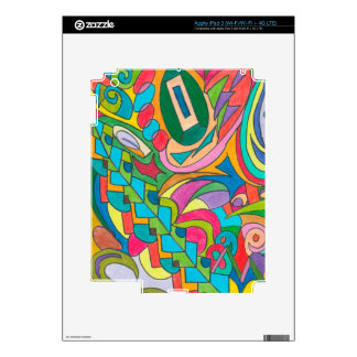 COLOR EYE CANDY COLLECTION 115 iPad 3 DECALS