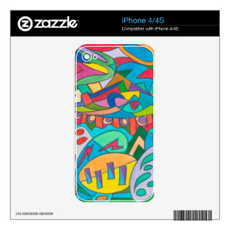 COLOR EYE CANDY COLLECTION 116 iPhone 4S DECAL