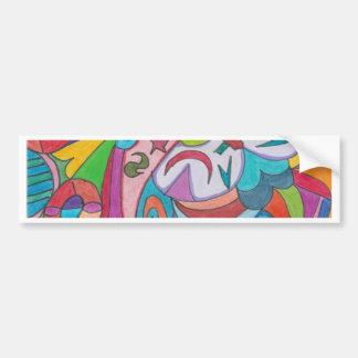 COLOR EYE CANDY COLLECTION BUMPER STICKER