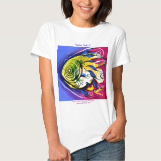 """""""Color Fish 5"""" Contemporary FISH by VinnyFish T Shirt"""