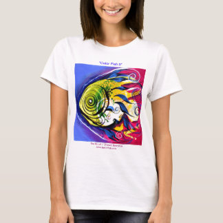 """""""Color Fish 5"""" Contemporary FISH by VinnyFish T-Shirt"""