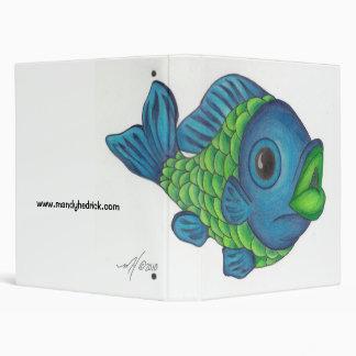 Color fish binder