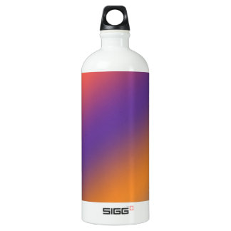 Color Flair: Buy Blank or add Greeting Text  Image Water Bottle