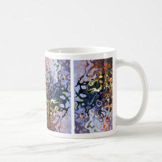 """""""Color Flame"""" #2 © 2011 S.J. Coffee Mug"""