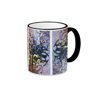 """""""Color Flame"""" #2 © 2011 S.J. Ringer Mug"""