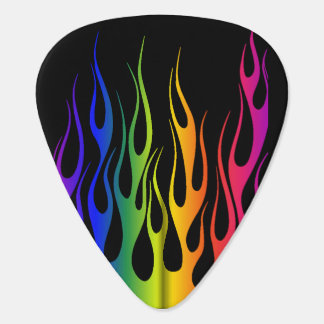 COLOR FLAME GUITAR PICK
