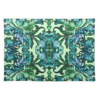 Color Flexible Fabulous Foliage Damask Cloth Placemat
