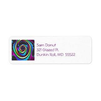 Color Focus Address Label