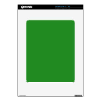 color forest green decal for iPad