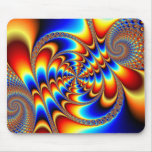 Color Fun - Fractal Mouse Pad