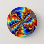 Color Fun - Fractal Pinback Button