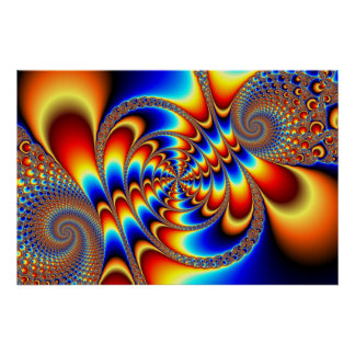 Color Fun - Fractal Poster