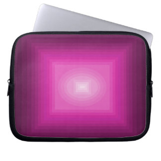 Color Fun Illusion Laptop Case