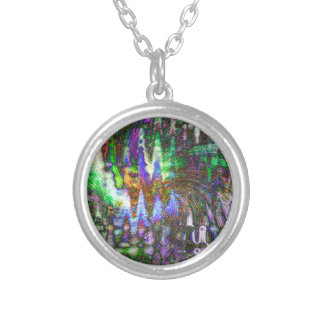 Color Fun Silver Plated Necklace