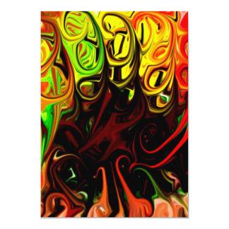 Color fusion invitations