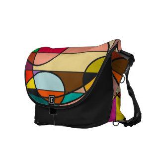 Color Galaxy Messenger Bag
