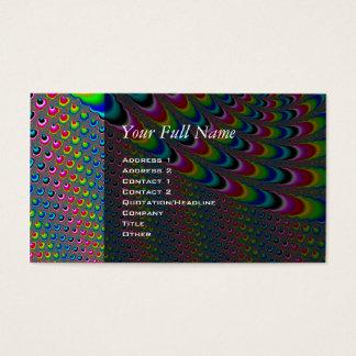 Color Game - Fractal Art Business Card