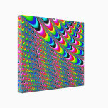 Color Game - Fractal Art Canvas Print