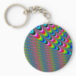 Color Game - Fractal Art Keychain
