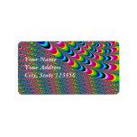 Color Game - Fractal Art Label