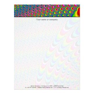 Color Game - Fractal Art Letterhead