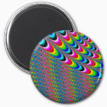 Color Game - Fractal Art Magnet