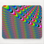 Color Game - Fractal Art Mouse Pad