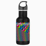 Color Game - Fractal Art Water Bottle