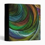Color Glory Abstract Art Binder