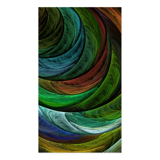 Color Glory Abstract Art Business Card
