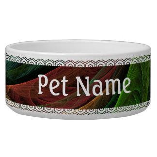 Color Glory Abstract Art Dog Bowl