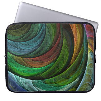 Color Glory Abstract Art Laptop Sleeve