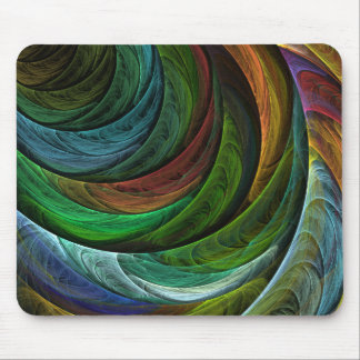 Color Glory Abstract Art Mousepad