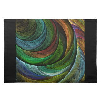 Color Glory Abstract Art Placemat
