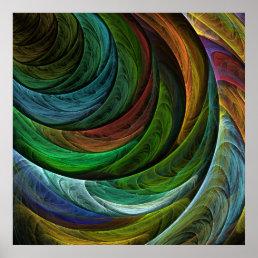 Color Glory Abstract Art Print