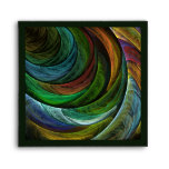 Color Glory Abstract Art Square Envelope