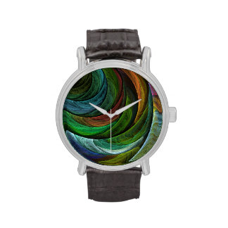 Color Glory Abstract Art Watches