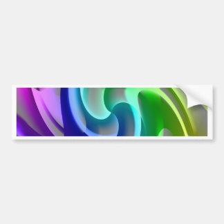 color gradient No. 17 created by Tutti Bumper Sticker
