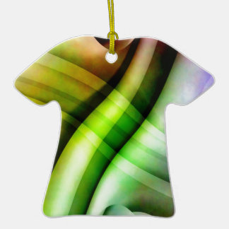 color gradient no 25 by Tutti Double-Sided T-Shirt Ceramic Christmas Ornament