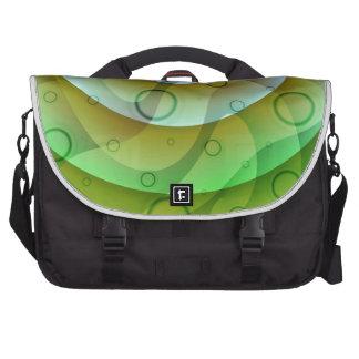 Color gradient no 3 with bubbles by Tutti Laptop Messenger Bag