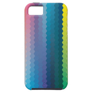 color graphic heagon iPhone SE/5/5s case