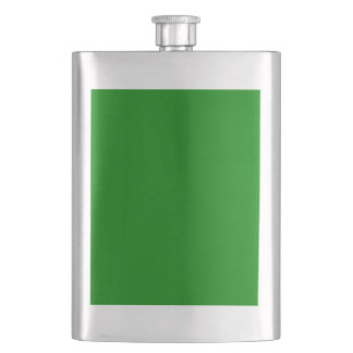 color green flask