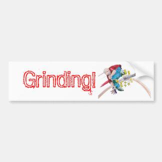 Color Grind Bumper Sticker