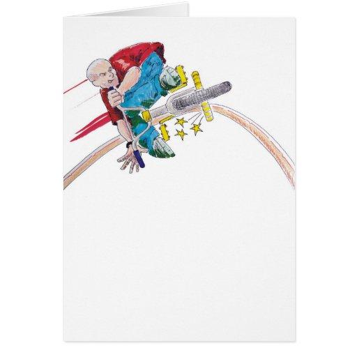 Color Grind Greeting Cards