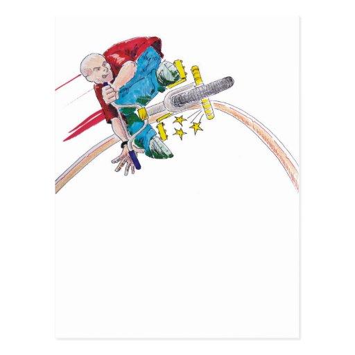 Color Grind Postcard