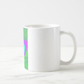 Color growth, nautilus shell coffee mug