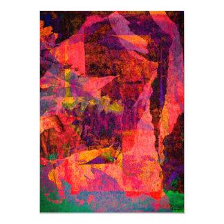 Color Grunge Design Card